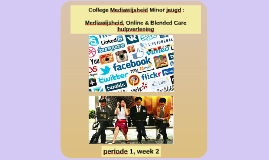 College mediawijsheid week 2, periode 1, 2018-2019