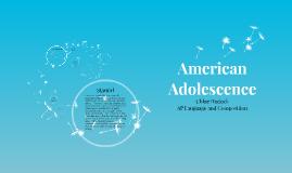American Adolescence