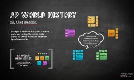 AP World History Open House