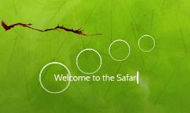 Welcome to the Safari
