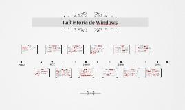 La historia de Windows