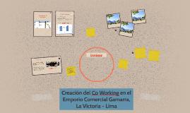 Creación del Co Working en el Emporio Comercial Gamarra, La
