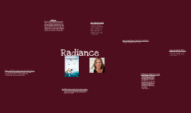 My book talk: Radiance