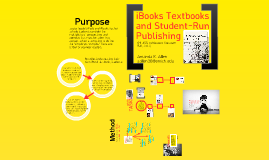 iBooks Textbooks and Student-Run Publishing