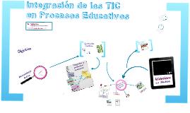 Integración de las TIC en Educacíón