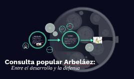 Consulta popular Arbeláez: