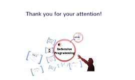 Defenzív programozás