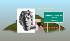 Tribulation under the Greeks