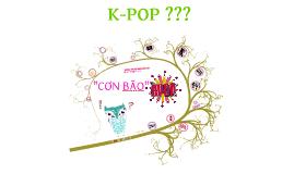 Cơn bão K-pop