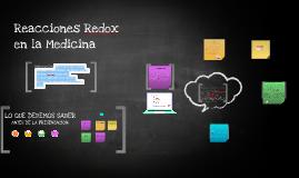 Procesos redox en la medicina