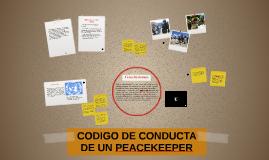 Las Naciones Unidas esperan que todo el personal de mantenim