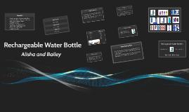Rechargable Water Bottle