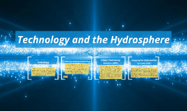 Technology and the Hydrosphere
