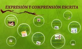 Copy of EXPRESIÓN Y COMPRENSIÓN ESCRITA