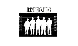 Identifications by Wallace Smith, B.A., LL.B., LL.M.
