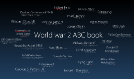 World War 2 ABC book
