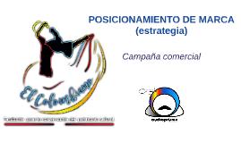 Campaña de posicionamiento