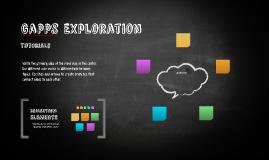 Gapps Exploration