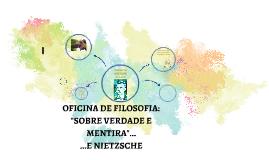 Copy of OFICINA DE FILOSOFIA: