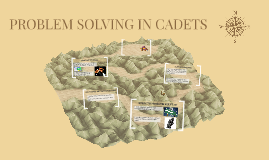 PROBLEM SOLVING IN CADETS