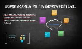 Copy of Importancia de la Biodiversidad.