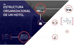 ESTRUCTURA ORGANIZACIONAL DE UN HOTEL...