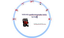 1978ko Sanferminak