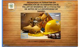 PEDAGÓGIA ALTERNATIVA EN PREVENCIÓN DE ACCIDENTES EN EL TALL