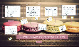 NEWTON RAPHSON POWER FLOW