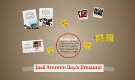 José Antonio Rey's Prezumé