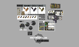 Copy of BAMF Golf Bag