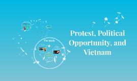 How did Vietnam War Protestors Capitalize on Political Oppor