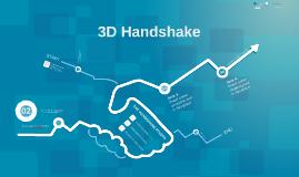 TEMPLATE - 3D Handshake Green