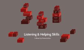 Listening & Helping Skills