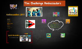 Copy of The Challenge Ambassadors!!