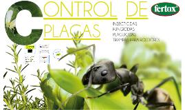 Control Plagas