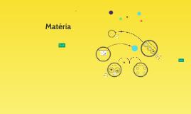 Copy of Matéria