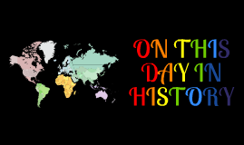 On This Day In History - April 22
