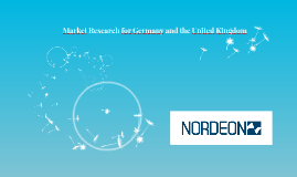 Market Research for Germany and the United Kingdom