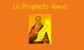 Le prophète Amos