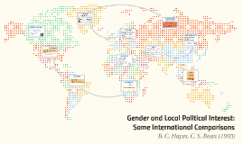 Gender and Local Political Interest