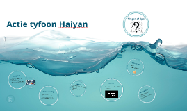 Actie tyfoon Haiyan