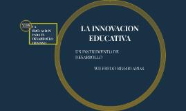 LA INNOVACION EDUCATIVA