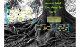 The Need for Roots, Simone Weil