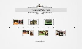Hannah Patterson