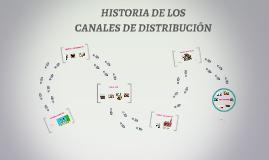 HISTORIA DE LOS CANALES DE DISTRIBUCIÓN