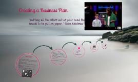 Enter the Entrepreneur: Creating a Business Plan