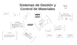 Sistemas de gestión y control de materiales