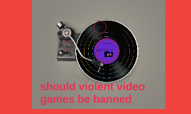 shoulsd violent videogames be banned 10 non-biased facts about violence in video games ten surprising facts about video game some groups believe that violent video games should be banned.