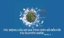 Copy of TÀI NGUYÊN NƯỚC